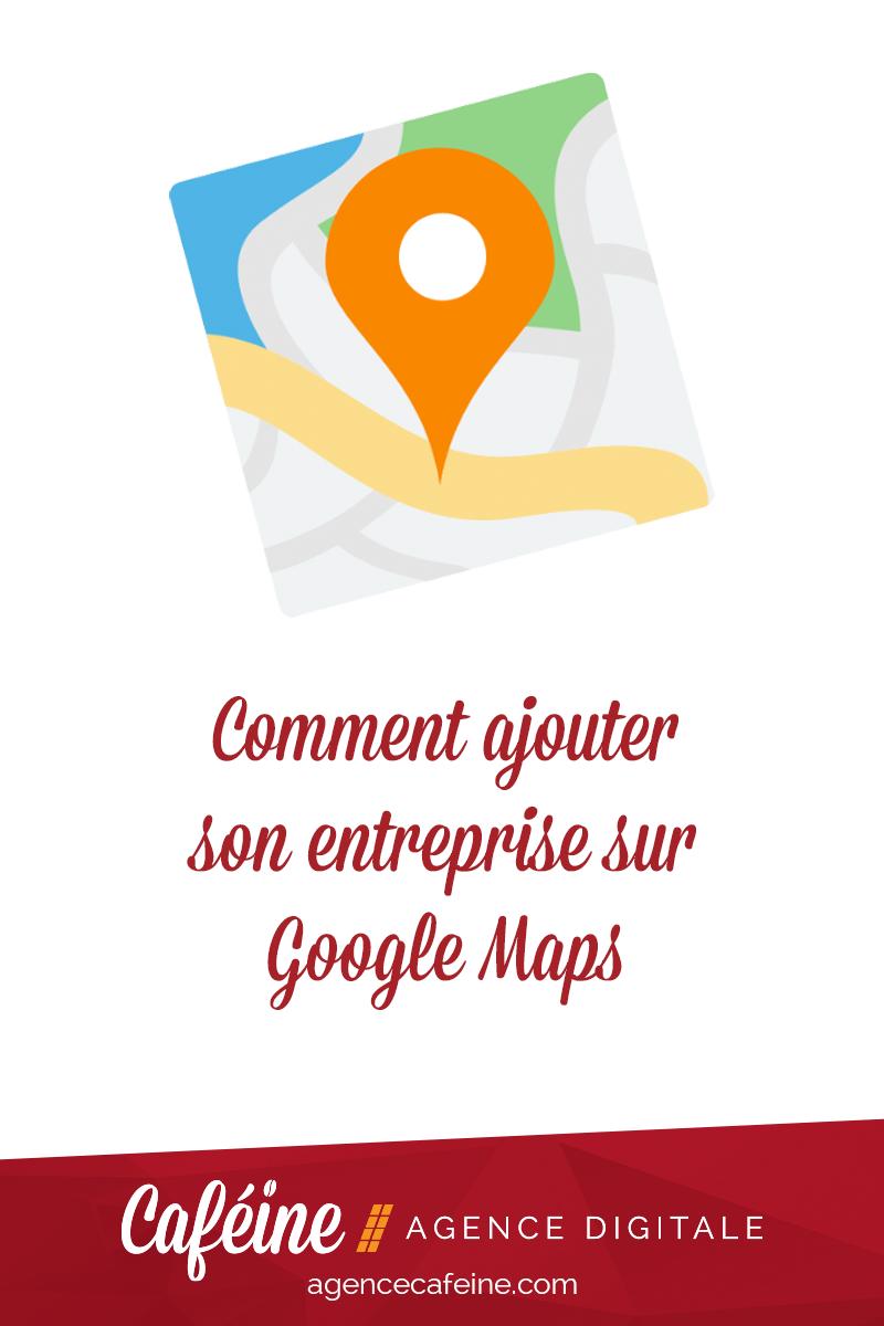 comment ajouter entrprise google maps pin