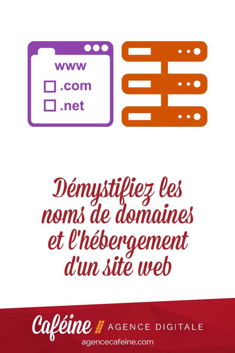 demystifier noms domaines hebergement site web pin