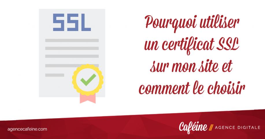 pourquoi utiliser un certificat ssl site web