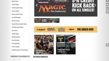 refonte boutique en ligne game keeper online