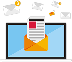 service hébergement courriels